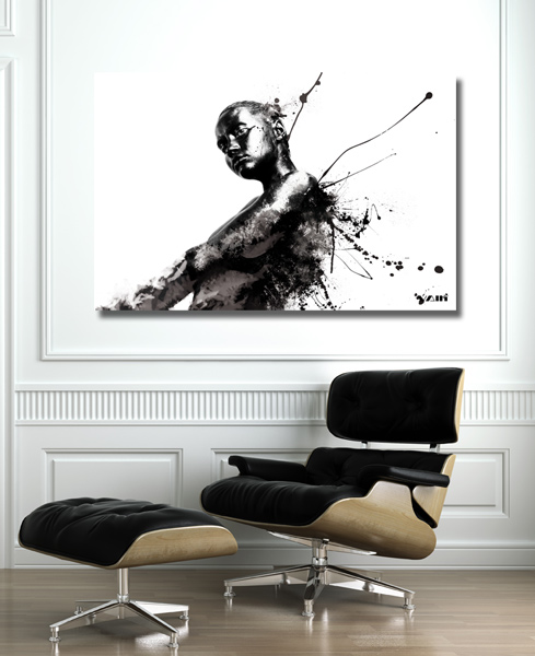 papier peint quels sont les diff rents types de papier. Black Bedroom Furniture Sets. Home Design Ideas